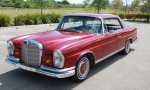 Deutscher Käufer eines antiken Fahrzeugs getäuscht – Vergleich erzielt - 1965 Mercedes Benz SEb 220 Coupe